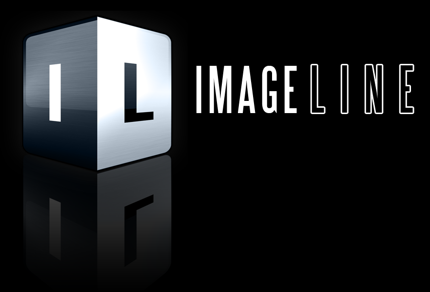 Image-Line Logo and Text Black .png format