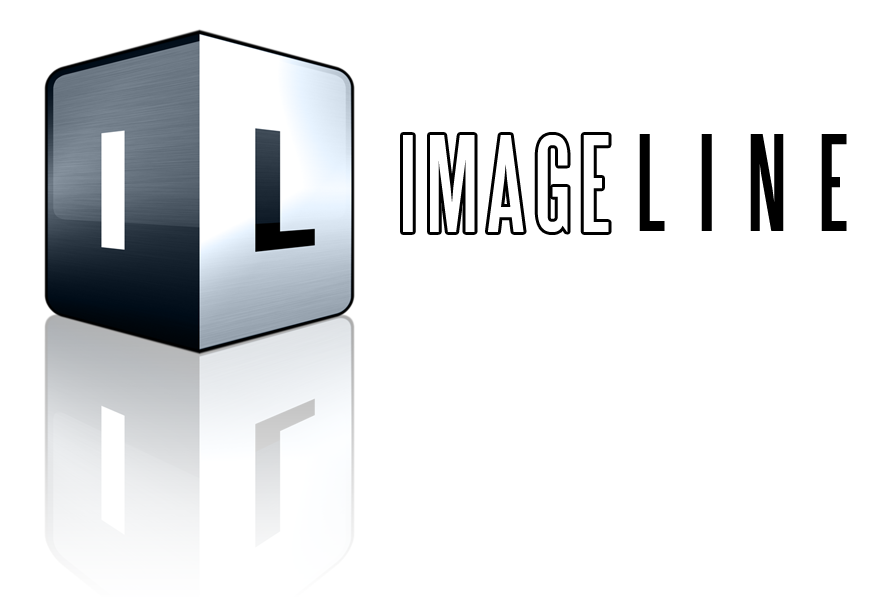 Image-Line Logo and Text White .png format